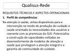qualisus rede