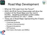 road map development