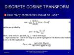 discrete cosine transform2