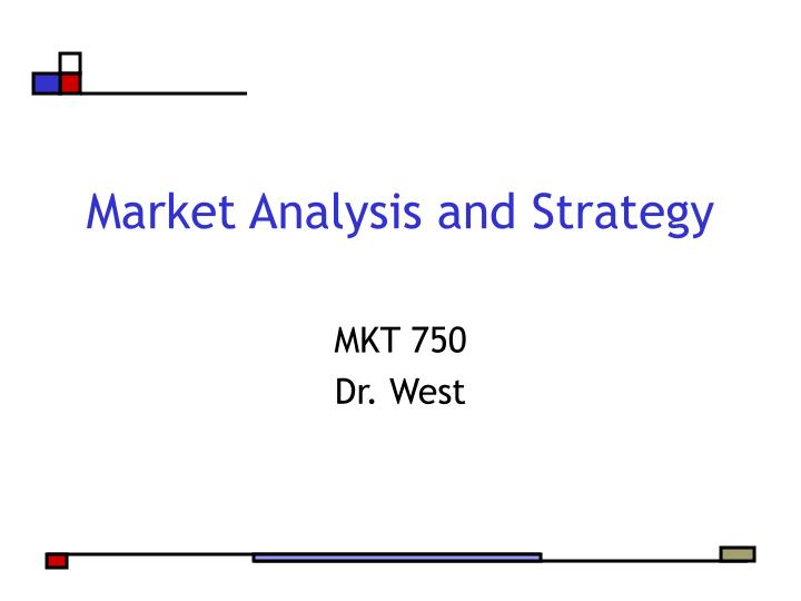 market analysis and strategy n.