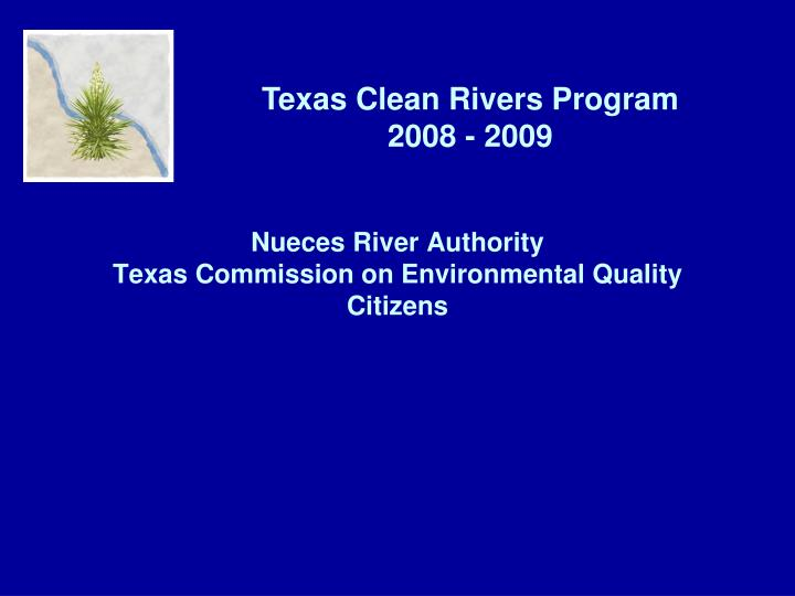 nueces river authority texas commission on environmental quality citizens n.
