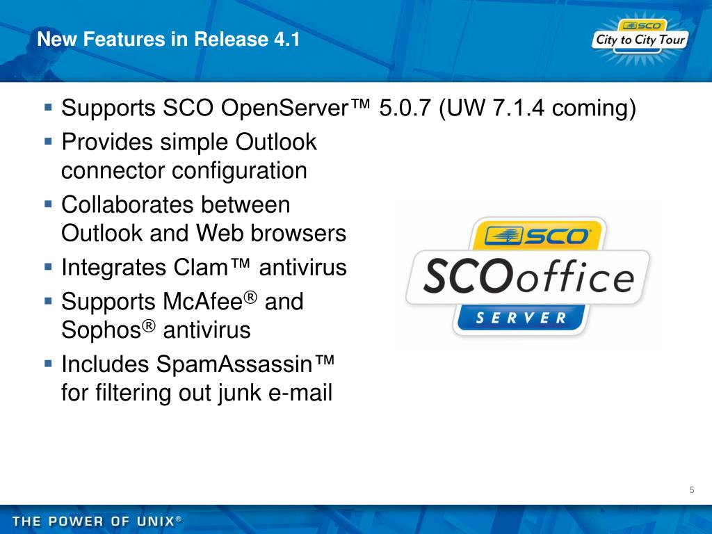New Features in Release 4.1