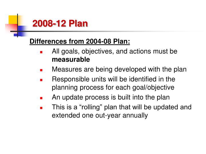 2008-12 Plan