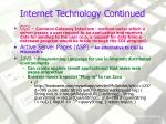 internet technology continued6