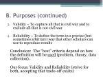 b purposes continued3