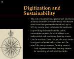 digitization and sustainability