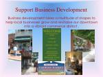 support business development
