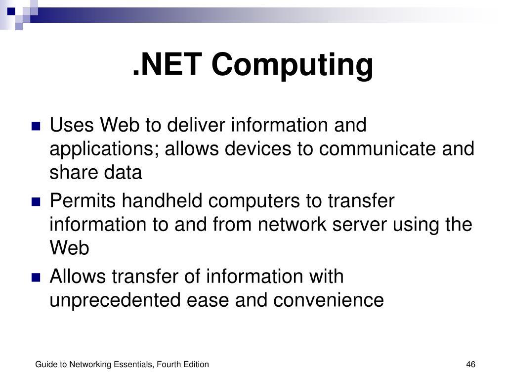 .NET Computing
