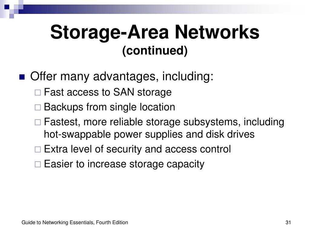 Storage-Area Networks
