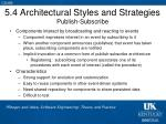 5 4 architectural styles and strategies publish subscribe