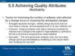 5 5 achieving quality attributes modifiability1