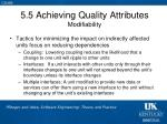 5 5 achieving quality attributes modifiability2