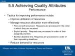 5 5 achieving quality attributes performance1