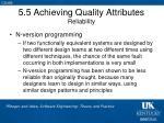 5 5 achieving quality attributes reliability2