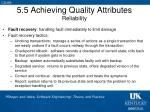 5 5 achieving quality attributes reliability3