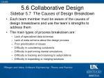 5 6 collaborative design sidebar 5 7 the causes of design breakdown