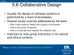 5 6 collaborative design
