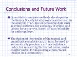 conclusions and future work2