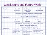 conclusions and future work3