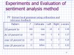 experiments and evaluation of sentiment analysis method5