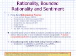 rationality bounded rationality and sentiment4