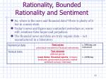 rationality bounded rationality and sentiment5