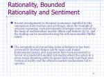 rationality bounded rationality and sentiment7