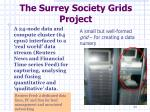 the surrey society grids project