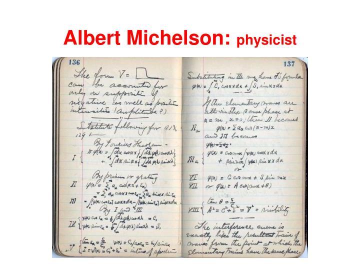 Albert Michelson:
