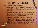 tds on interest1