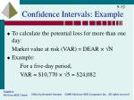 confidence intervals example2