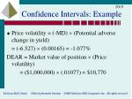 confidence intervals example1