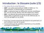 introduction le glossaire suite 2 3
