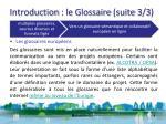 introduction le glossaire suite 3 3