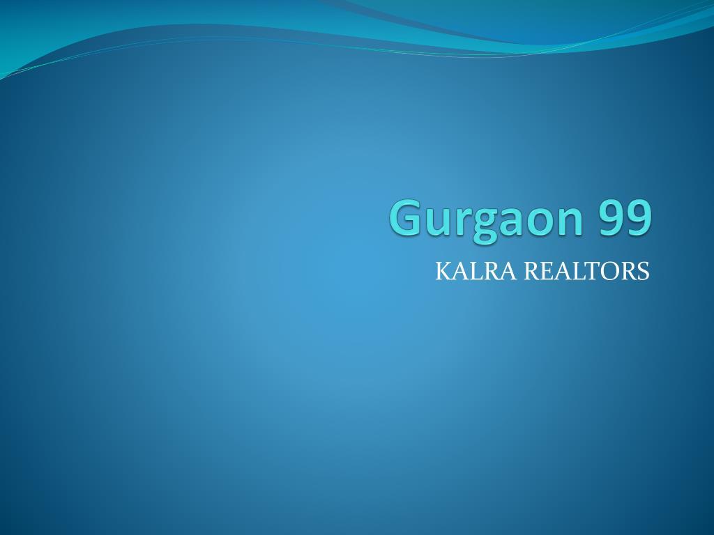 gurgaon 99