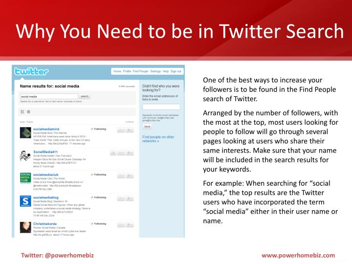 Why You Need to be in Twitter Search
