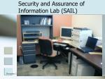 security and assurance of information lab sail2