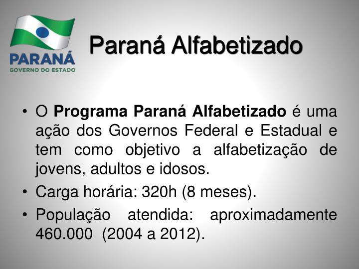 Paraná Alfabetizado