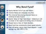 why bond fund