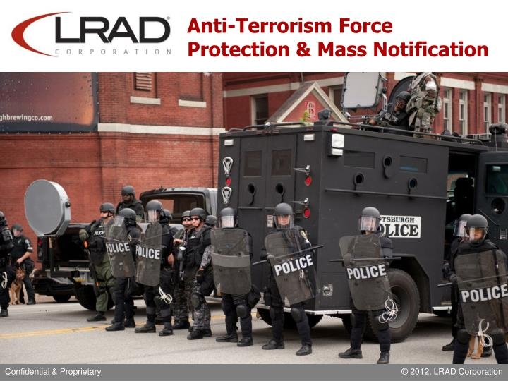 anti terrorism force protection mass notification n.
