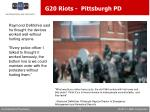 g20 riots pittsburgh pd