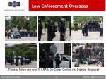law enforcement overseas