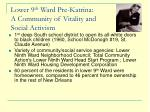 lower 9 th ward pre katrina a community of vitality and social activism