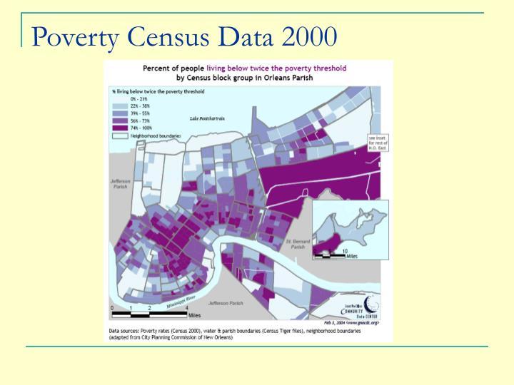 Poverty Census Data 2000