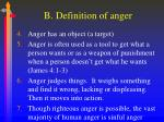 b definition of anger2