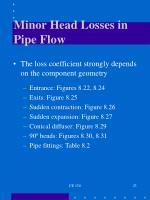 minor head losses in pipe flow1
