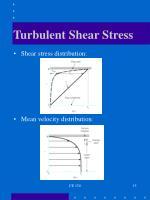 turbulent shear stress1