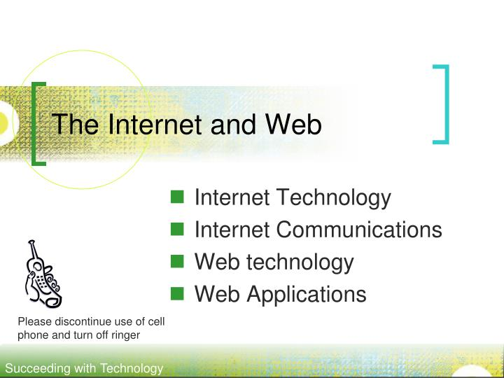 the internet and web n.