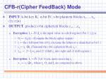 cfb r cipher feedback mode