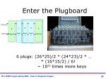 enter the plugboard